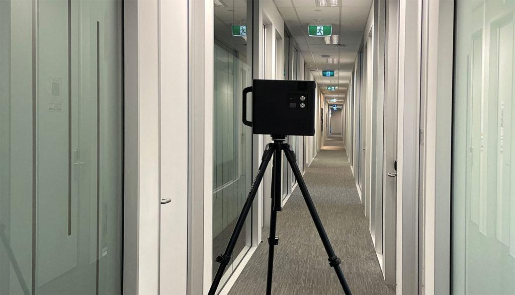 3D Built Scanning camera